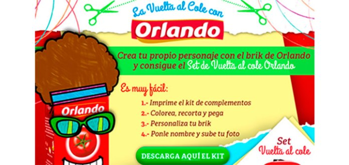 Orlando regala 10 sets Vuelta al cole