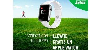 Consigue gratis un Apple Watch con Salus
