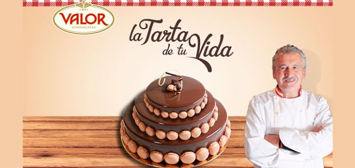 Consigue la tarta de tu vida con Chocolates Valor