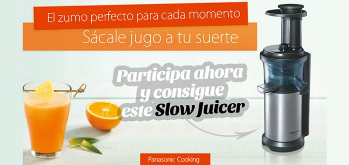 Consigue un Slow Juicer de Panasonic