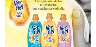 Se sortean 10 Vernel Soft&Oils al día
