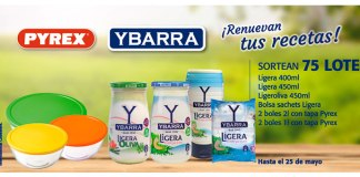 Ybarra y Pyrex sortea 75 lotes de productos