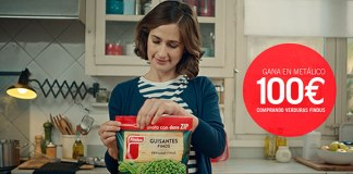 Gana 100 euros comprando verduras Findus