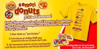 Consigue una camiseta con los Emoti Donuts