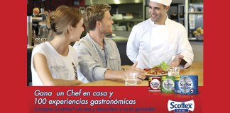Gana un Chef con Scottex