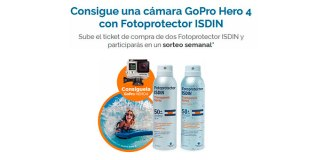 Gana una GoPro Hero 4 con ISDIN