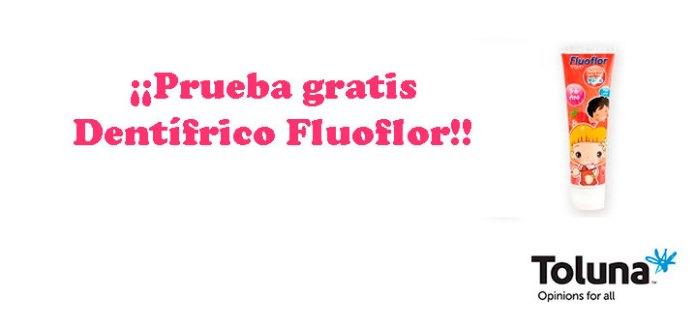 Prueba gratis Dentífrico Fluoflor con Toluna