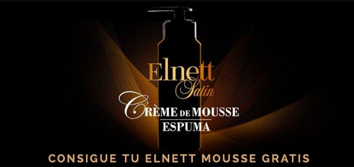 Consigue Elnett Mousse gratis