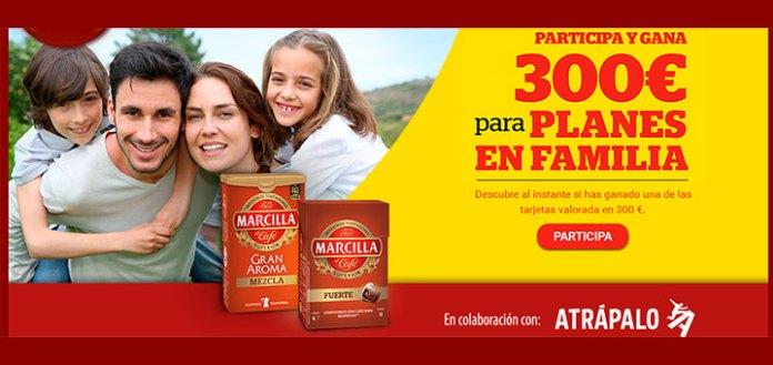 Gana 300 euros en planes de familia con Marcilla