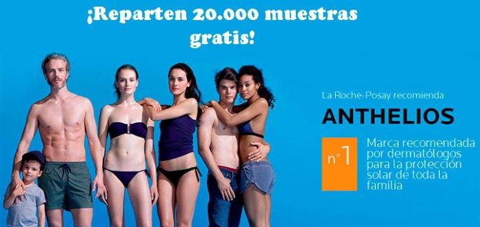 Muestras gratis de anthelios La Roche Posay