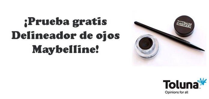 Prueba gratis Delineador de ojos Maybelline