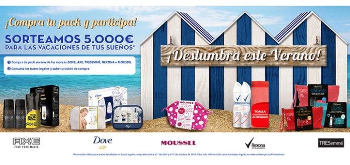 Unilever sortea 5.000 euros