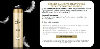 10.000 muestras de Olay Total Effects