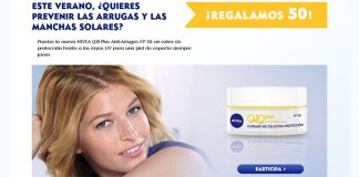 Nivea regala 50 Nivea Q10 Plus Anti-Arrugas