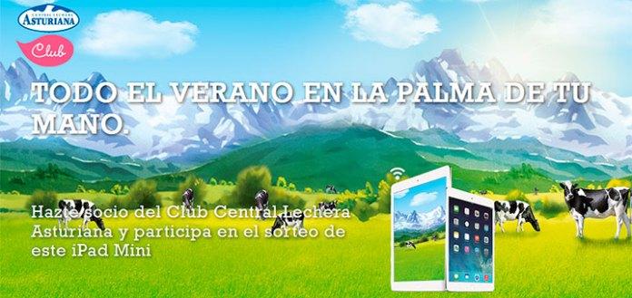 Central Lechera Asturiana sortea un iPad Mini