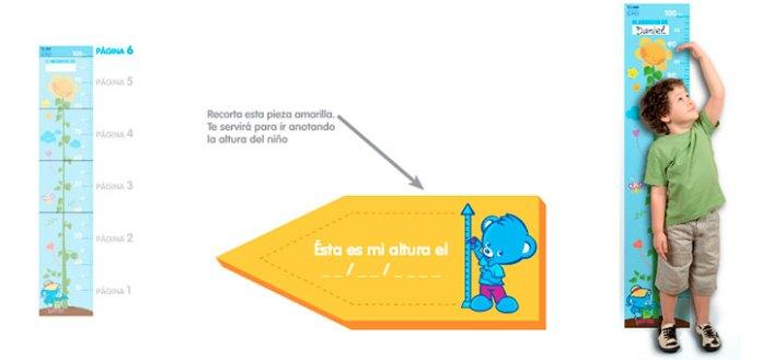 Medidor gratis de Nestlé Bebé