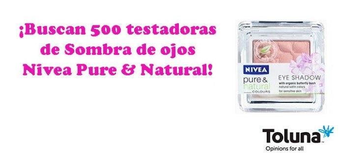 Prueba gratis Sombra de ojos Nivea Pure & Natural
