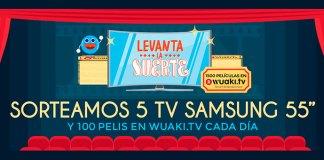 """Danone sortea 5 TV Samsung 55"""" y pelis en Wuaki"""