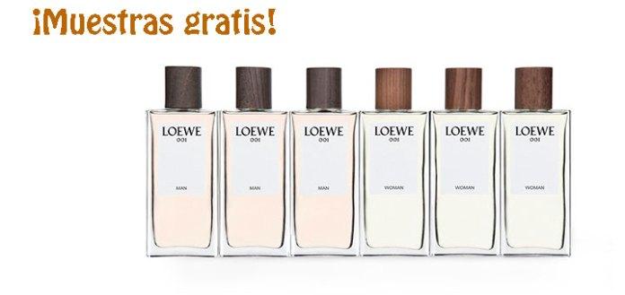 Muestras gratis de Loewe 001