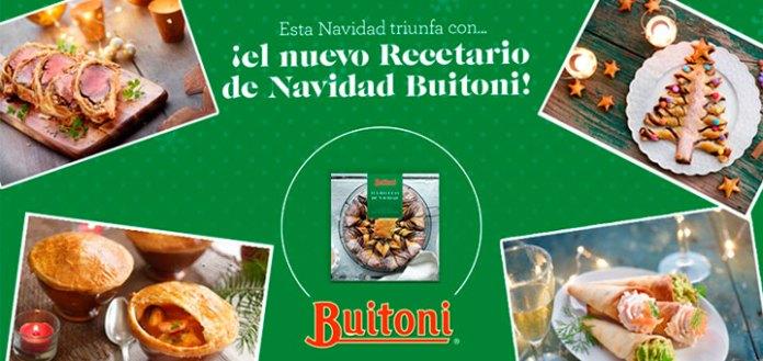 Consigue el nuevo recetario de Navidad de Buitoni