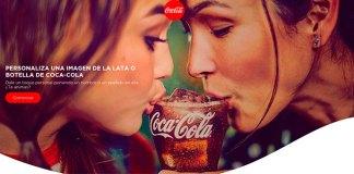 Personaliza una imagen de la lata de Coca Cola