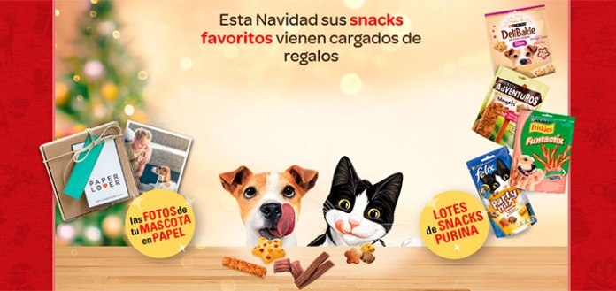 Consigue regalos con Snacks Purina