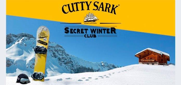Consigue una experiencia en la nieve con Cutty Sark