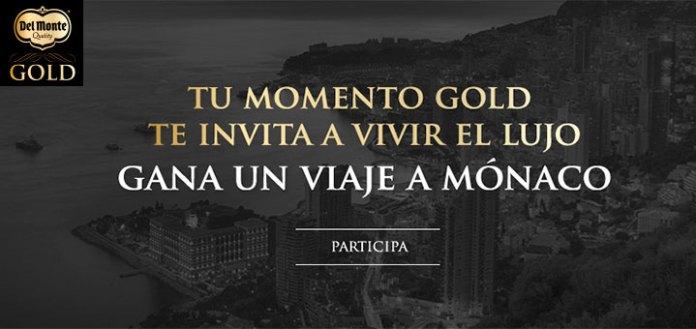 Gana un viaje a Mónaco con Del Monte Gold