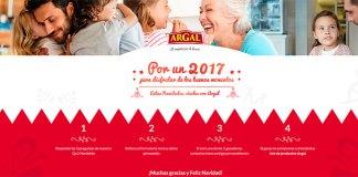 Sortean 5 lotes de productos Argal