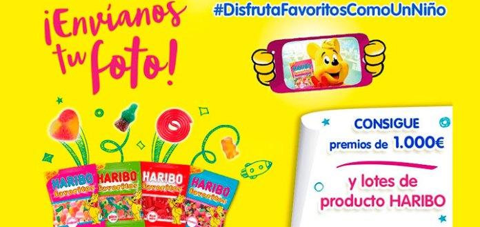 Consigue premios y lotes de productos Haribo
