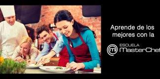 Gana un curso de cocina en la Escuela MasterChef