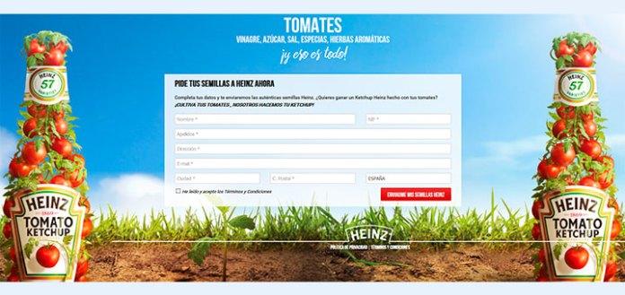 Consigue gratis Semillas Heinz