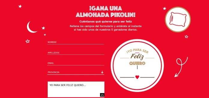 Gana una Almohada Pikolin