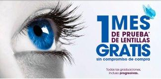 Prueba gratis lentillas con Alain Afflelou