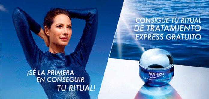 Consigue tu ritual de tratamiento express BiothermConsigue tu ritual de tratamiento express Biotherm
