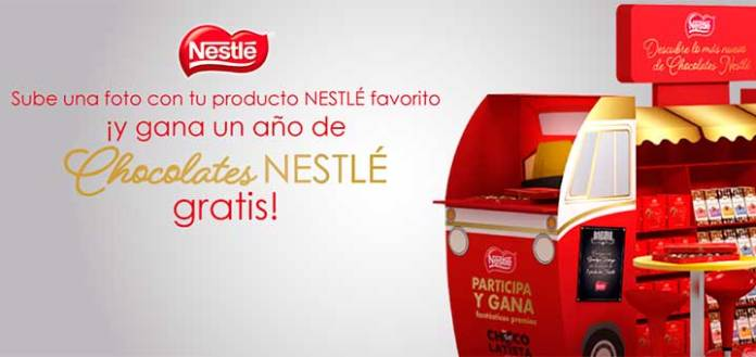 Gana un año de Chocolates Nestlé