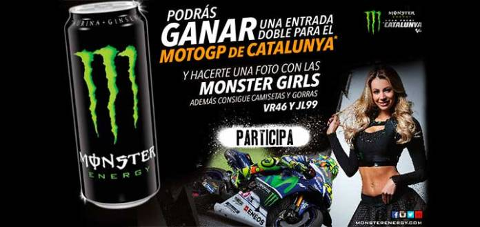 Gana una entrada doble para Moto GP con Monster Energy