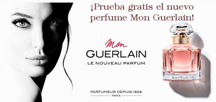 Prueba gratis el nuevo perfume Mon Guerlain