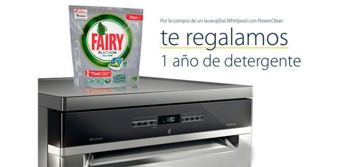 Consigue 1 año de detergente gratis