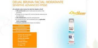 Prueba gratis Delial Bruma Facial Hidratante