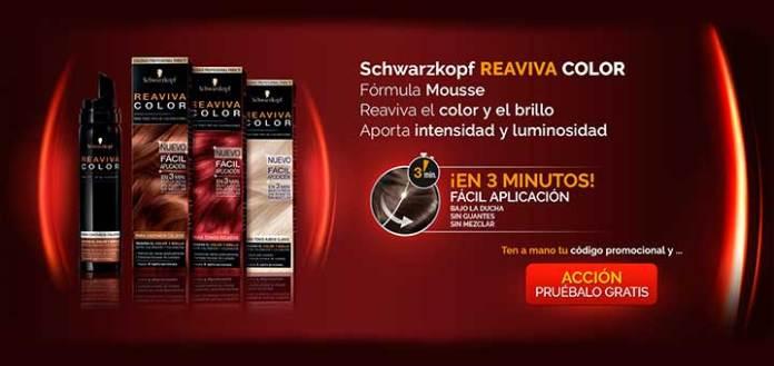 Prueba gratis Schwarzkopf Reaviva Color
