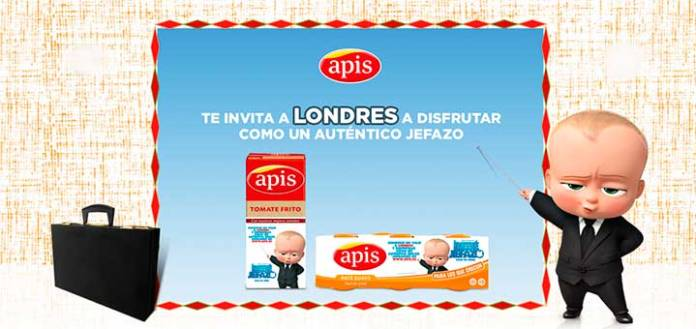 Gana un viaje a Londres con Apis