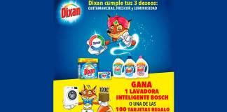 Gana una lavadora Bosch con Dixan