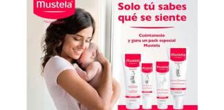 Sortean un lote de productos Mustela Maternidad