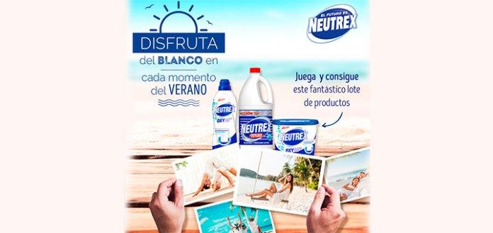 Consigue un lote de productos Neutrex
