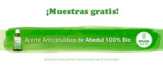 Prueba gratis Aceite Anticelulítico de Abedul