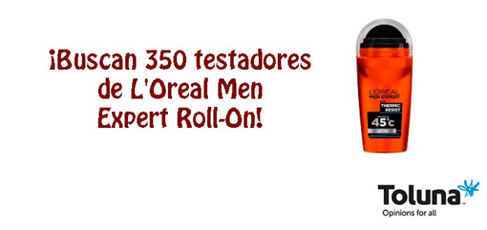 Prueba gratis L'Oreal Men Expert Roll-On