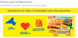 Rescue sortea un viaje a Amsterdam