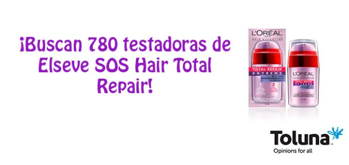 Prueba gratis Elseve SOS Hair Total Repair
