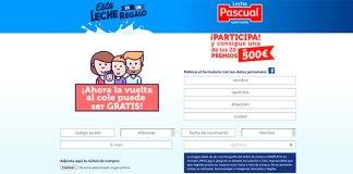 Vuelta al cole gratis con Leche Pascual